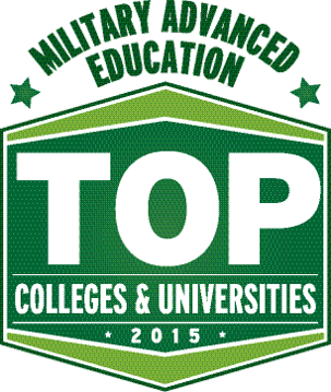 Military advanced education top colleges and universities 2015